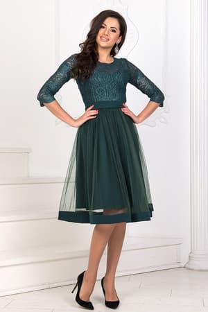 Коктейльное платье 8160e, фото 2