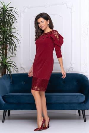 Коктейльное платье 9212e, фото 3