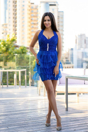 Коктейльное платье Барселона, фото 1
