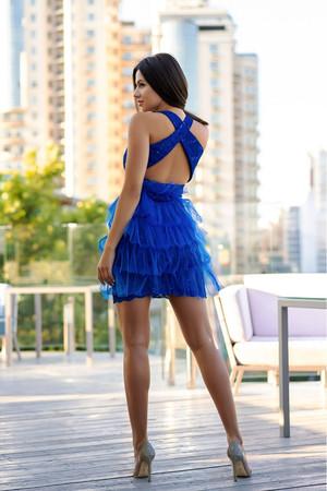 Коктейльное платье Барселона, фото 2