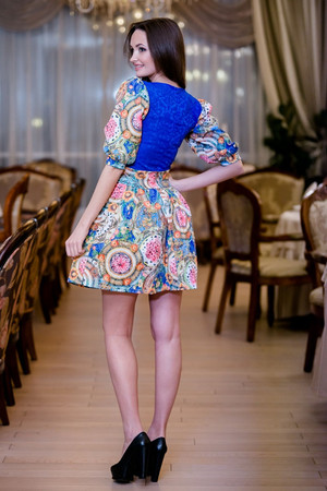 Коктейльное платье 5024e, фото 2