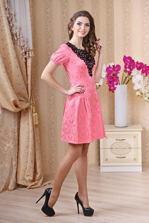 Повседневное платье 4060e, фото 3