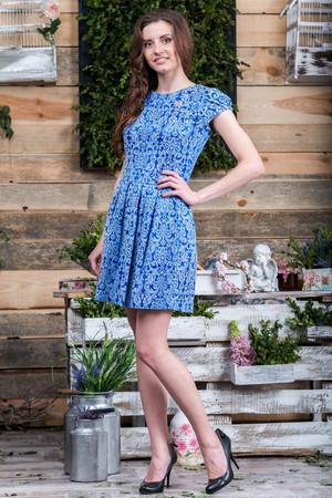 Повседневное платье 5056e, фото 1