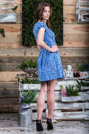 Повседневное платье 5056e, фото 2