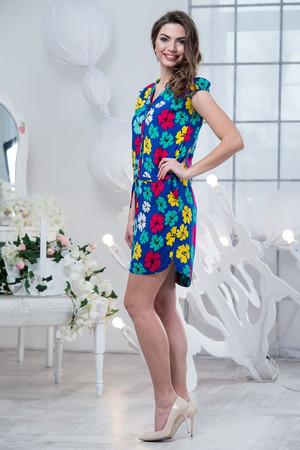 Повседневное платье 5155e, фото 3