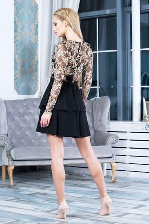 Коктейльное платье 7263e, фото 3