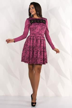 Повседневное платье 7238e, фото 2