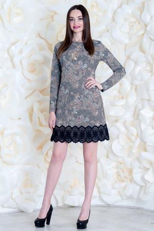 Коктейльное платье 6260e, фото 1