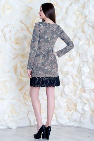Коктейльное платье 6260e, фото 2