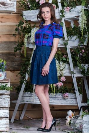 Повседневное платье 5078e, фото 2
