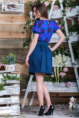 Повседневное платье 5078e, фото 3
