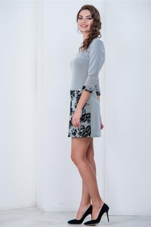 Повседневное платье 6202e, фото 3