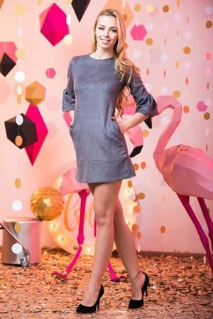 Повседневное платье 6236e, фото 1