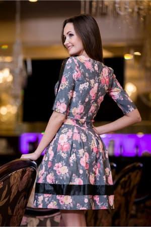 Повседневное платье 5023e, фото 3