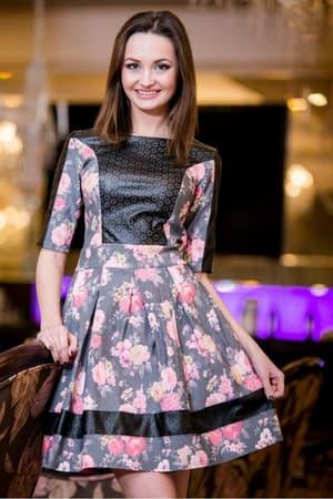 Повседневное платье 5023e, фото 4