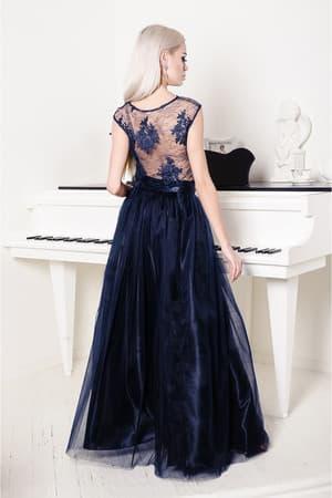 Вечернее платье с раздельным топом, фото 2