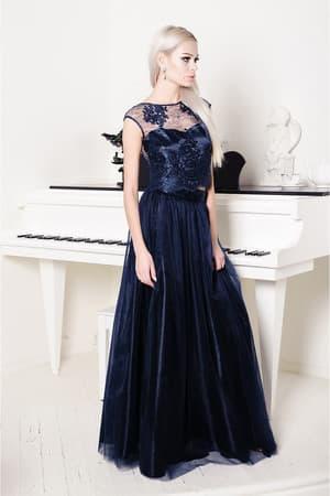 Вечернее платье с раздельным топом, фото 6