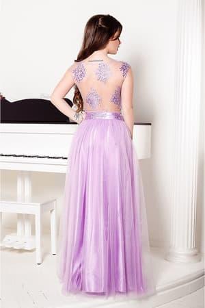 Вечернее платье с раздельным топом, фото 3