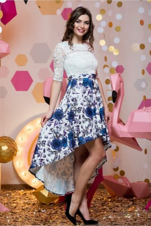 Коктейльное платье 7007e, фото 3