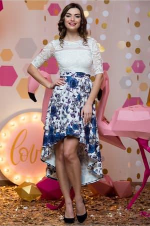 Коктейльное платье 7007e, фото 4