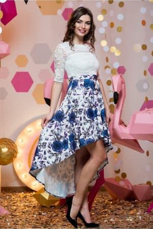 Коктейльное платье 7007e, фото 6