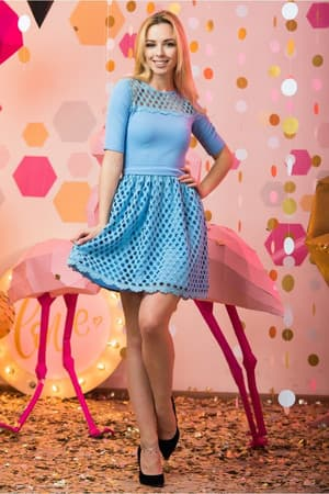 Коктейльное платье 7045e, фото 1