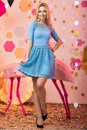 Коктейльное платье 7045e, фото 4