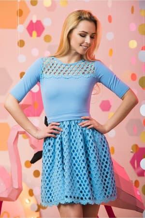 Коктейльное платье 7045e, фото 5