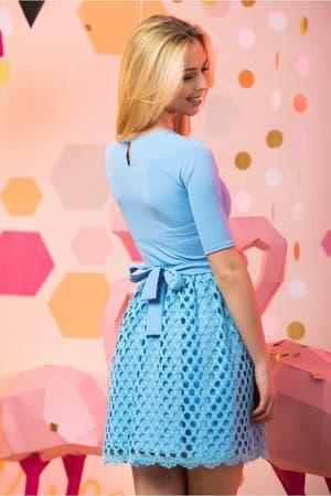 Коктейльное платье 7045e, фото 6