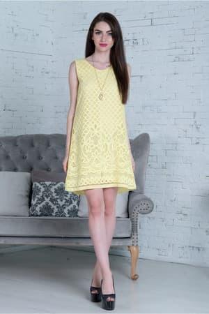 Повседневное платье 7143e, фото 4