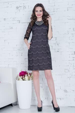 Коктейльное платье Визела, фото 3