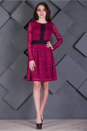 Повседневное платье 7227e, фото 3