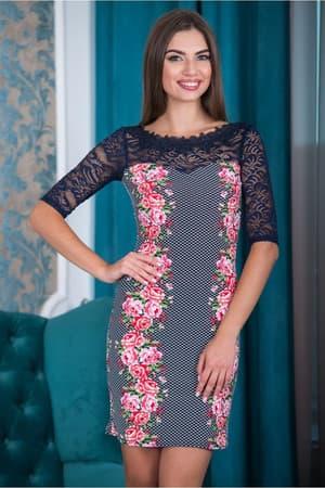 Коктейльное платье 6177e, фото 1