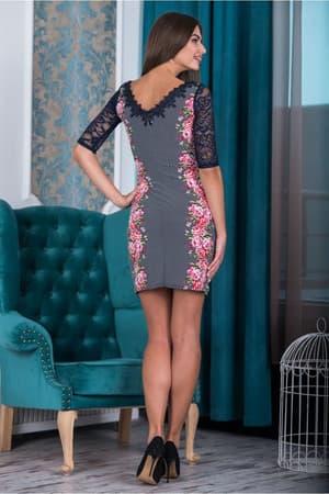 Коктейльное платье 6177e, фото 3
