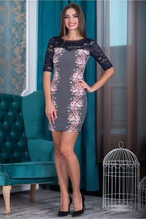 Коктейльное платье 6177e, фото 4
