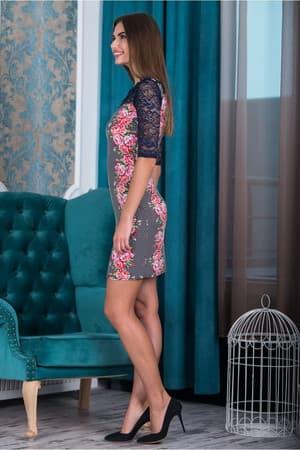 Коктейльное платье 6177e, фото 5
