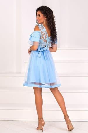 Коктейльное платье 8070e, фото 3