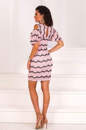 Коктейльное платье 8102e, фото 2
