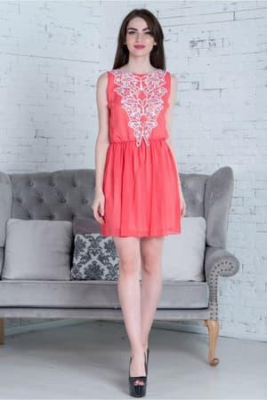 Повседневное платье 5157e, фото 1