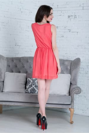 Повседневное платье 5157e, фото 3