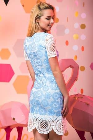 Коктейльное платье 7051e, фото 2