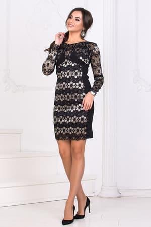 Коктейльное платье 8186e, фото 1