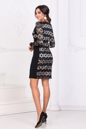 Коктейльное платье 8186e, фото 3