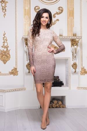 Коктейльное платье 8212e, фото 1