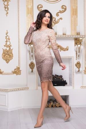 Коктейльное платье 8212e, фото 2