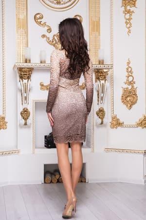 Коктейльное платье 8212e, фото 3