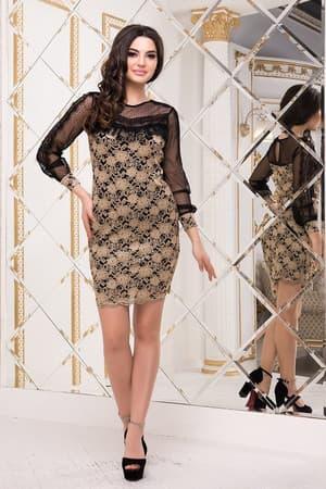 Коктейльное платье 8229e, фото 1