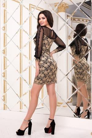Коктейльное платье 8229e, фото 3