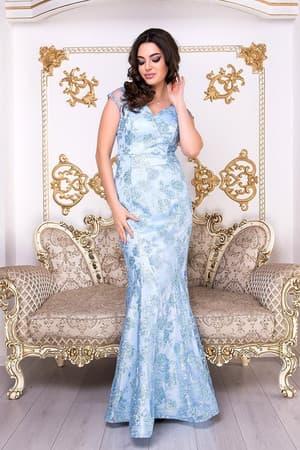 Коктейльное платье 9007e, фото 1