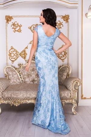 Коктейльное платье 9007e, фото 3